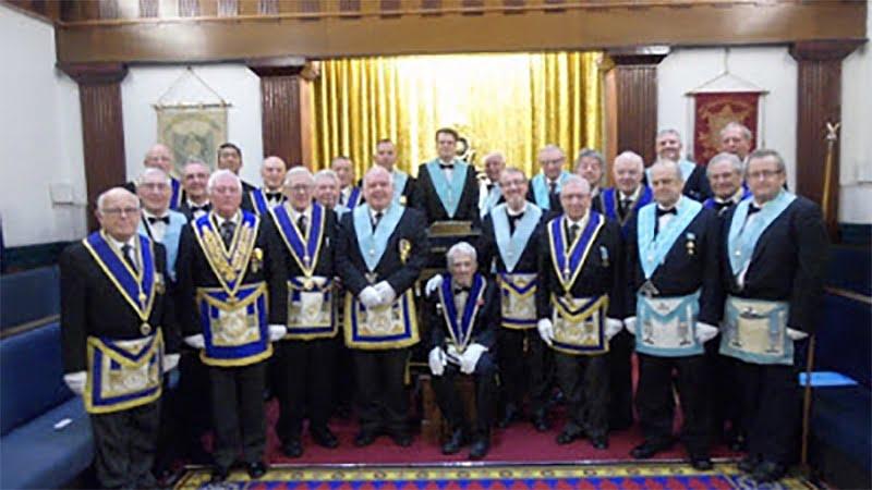 St Oswald Lodge 1124 celebrates 150 years