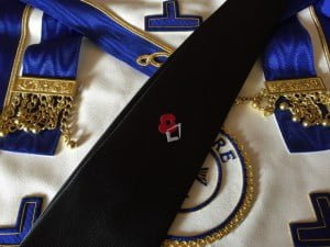 The Masonic Remembrance Tie