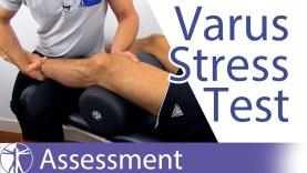 Varus Stress Test (Knee) – Physical Exam