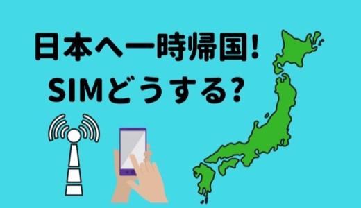 【一時帰国時のスマホ電波..】プリペイドSIMを買うべきか?レンタルWiFi借りるべきか?