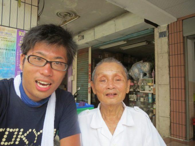 日本語世代のおじいさん