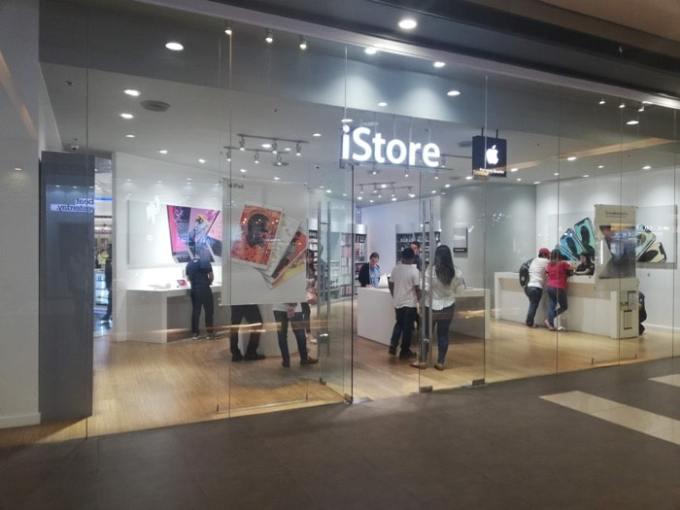 セブSMシティ:iStore
