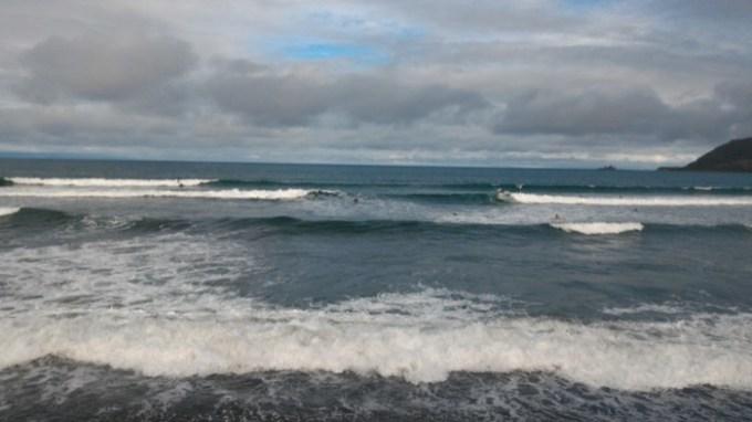 バレア:波の様子