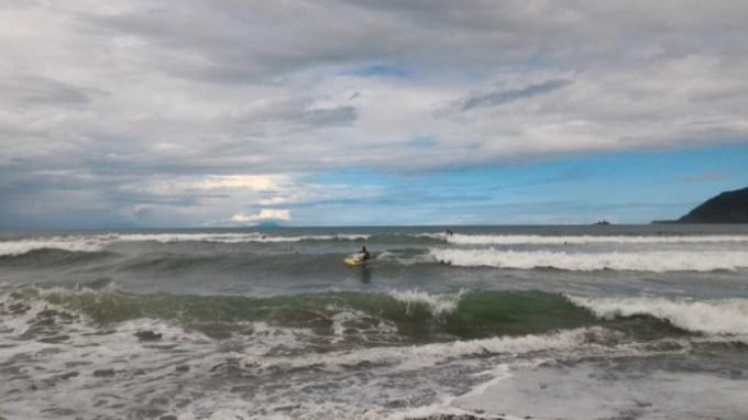バレル:波の様子