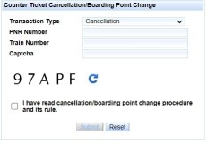 Online Counter Ticket Cancel Kaise Kare