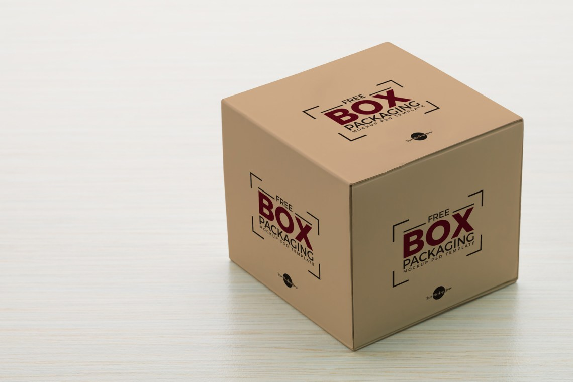 Download Free Box Packaging Mockup PSD TemplateFree Mockup Zone