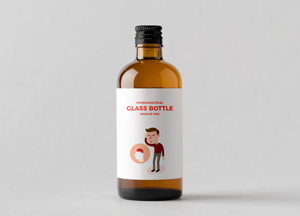Check out the best free & premium bottle mockups available for both. Free Pharmaceutical Glass Bottle Mockup Psd Free Mockup Zonefree Mockup Zone