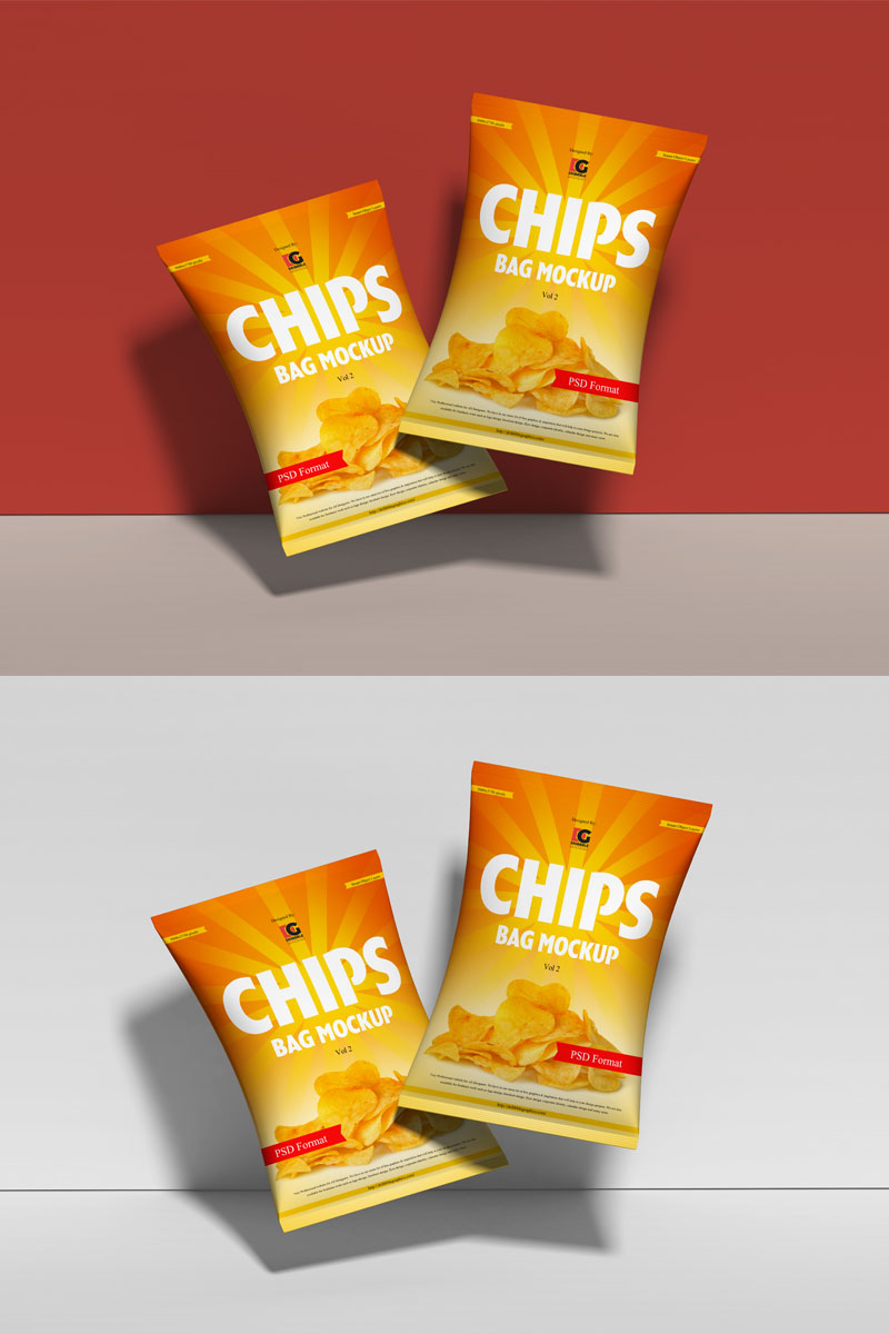 Download Free Chips Packaging Mockup PSD - Free Mockup ZoneFree ...
