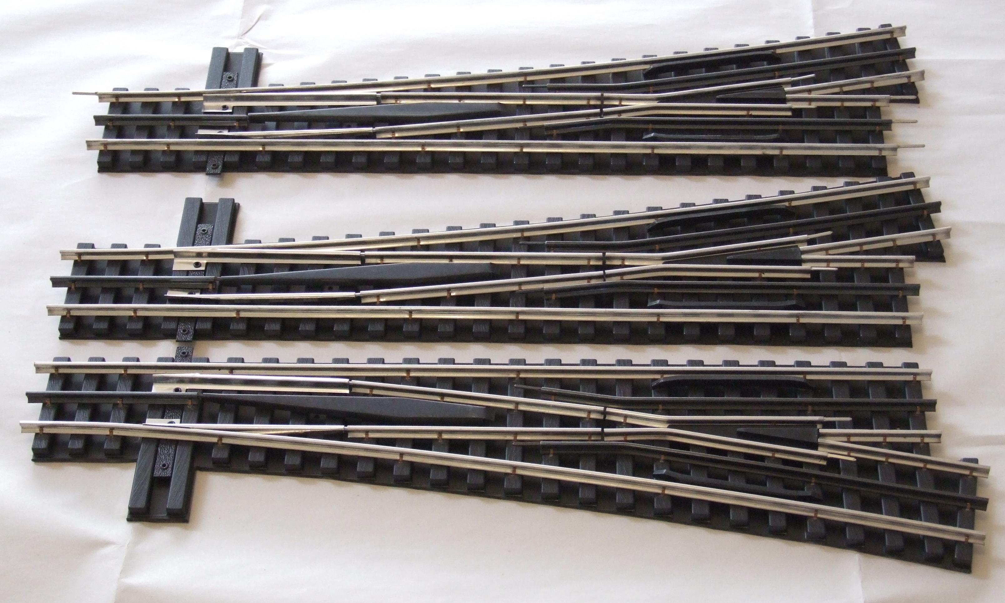 "O Gauge 15/"" Straight Track Section for Mth Lionel K-line Ross Gargraves"