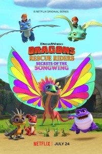 Dragons: Rescue Riders: Secrets of the Songwing (2020) (Animation) Movie