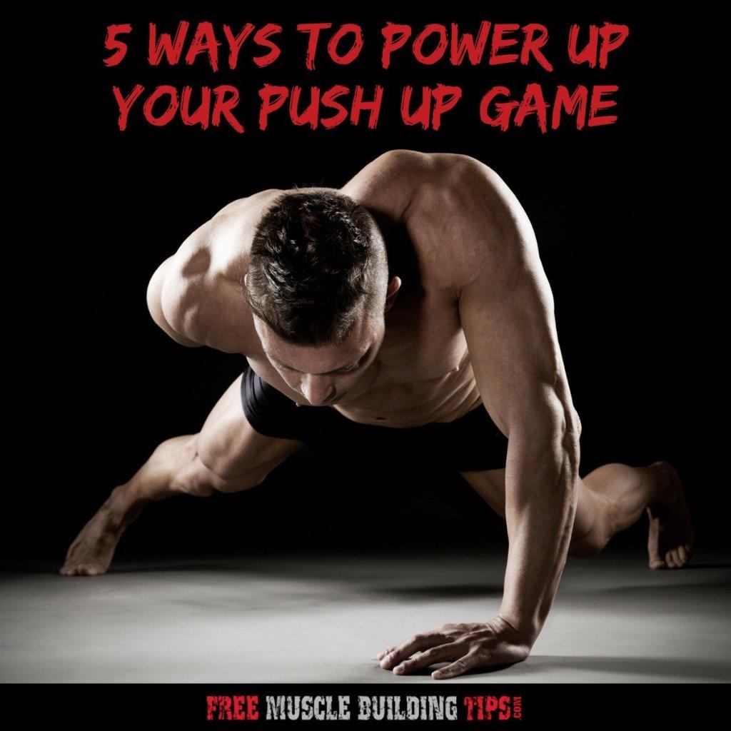 ways to do pushups