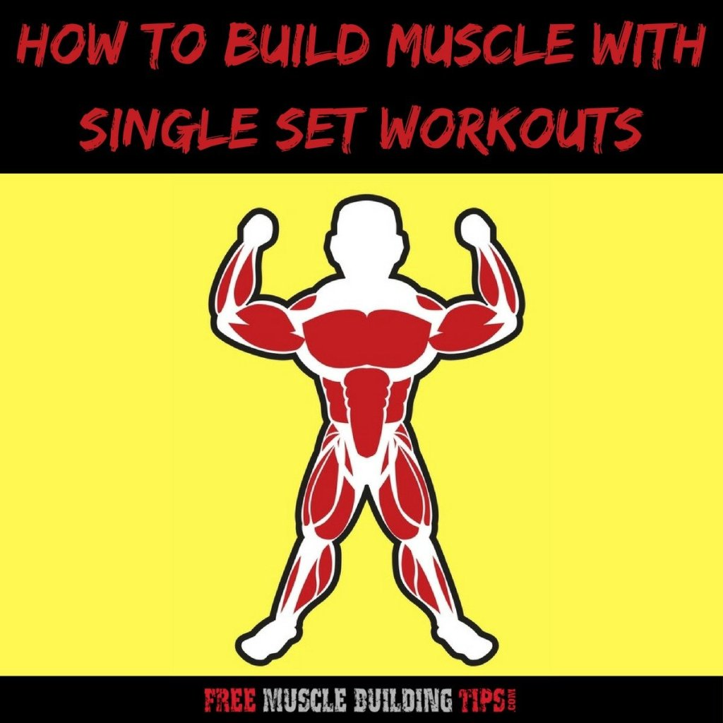single set workouts