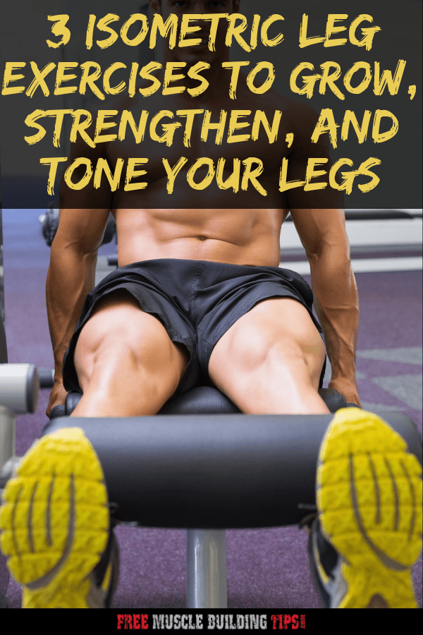 isometric leg exercise