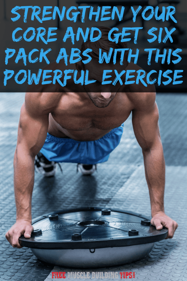 Isometric Planks for Six Pack Abs and Core Strength | Free