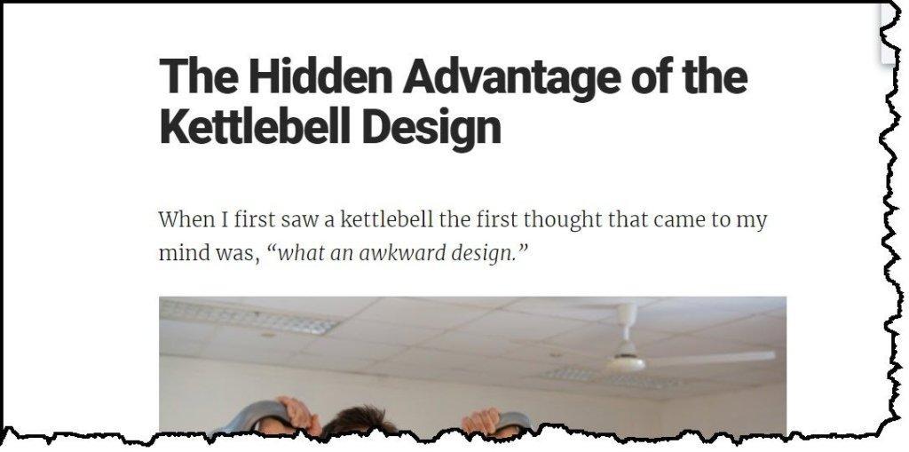 How kettlebells work
