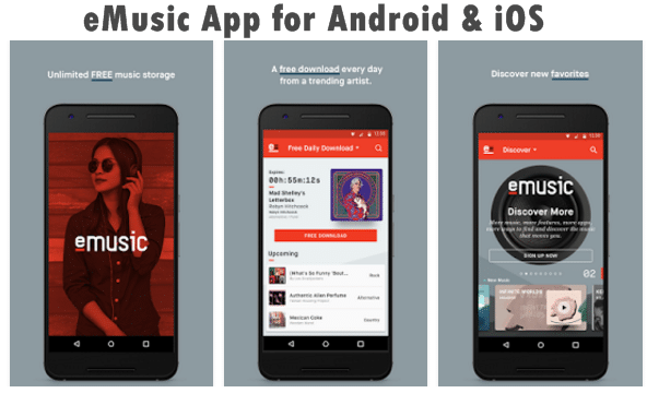 eMusic App for Android & iOS