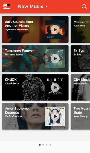 emusic app features