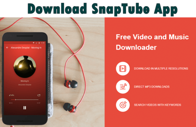 Download SnapTube App Apk SnapTube Video & Music Downloader