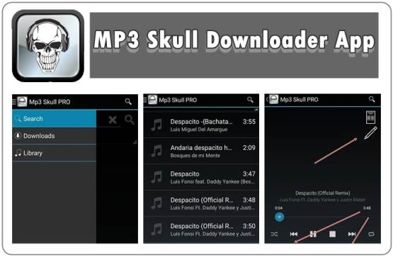 MP3 Skull Downloader App for Android (Latest Version) 2019