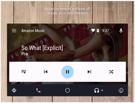 Amazon Music app features