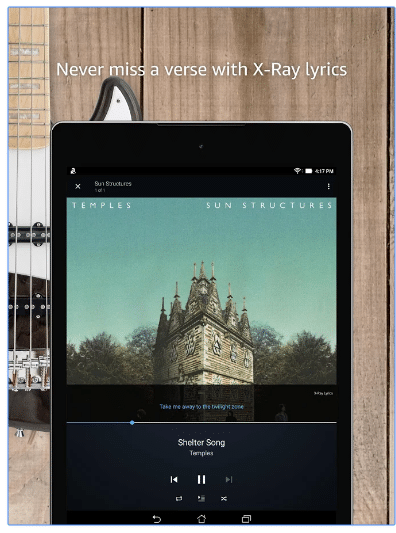 How to listen music in Amazon Music