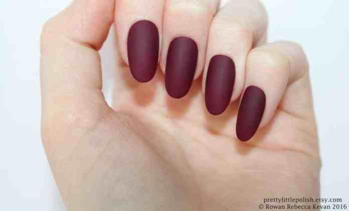 Are oval nails and rounded nails the same?