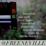 End The Manifesting Roller Coaster – Free Neville Goddard