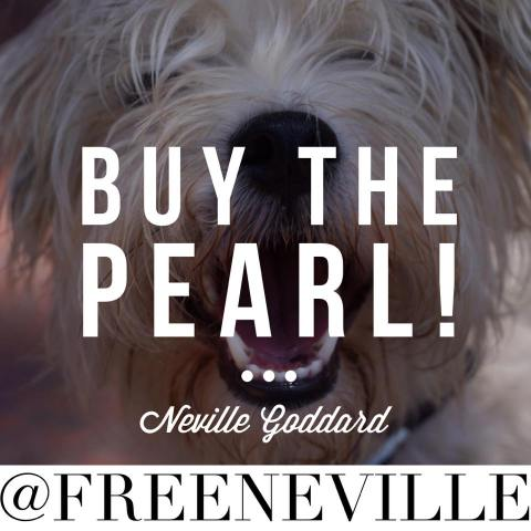 pearl of great price neville goddard