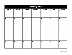 2009 Calendar Freeology
