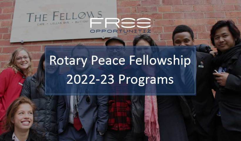 Rotary Peace Fellowship