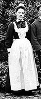 Maid, Hartwell, Northamptonshire, 1902