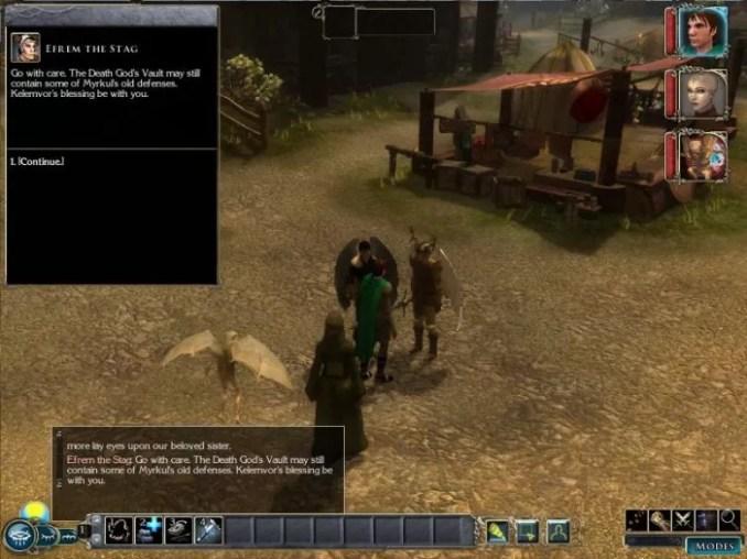 Neverwinter Nights 2 Mask of the Betrayer ScreenShot 2
