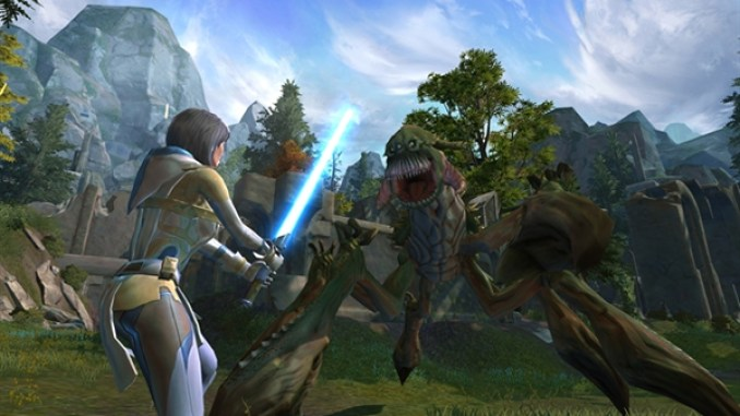 Star Wars The Old Republic ScreenShot 2