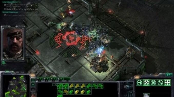 StarCraft II Wings of Liberty ScreenShot 2