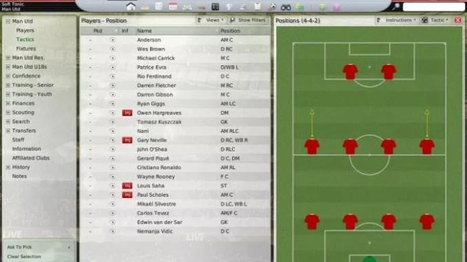 Football Manager 2008 ScreenShot 1