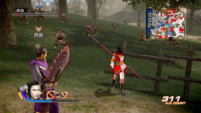 Dynasty Warriors 7 ScreenShot 1