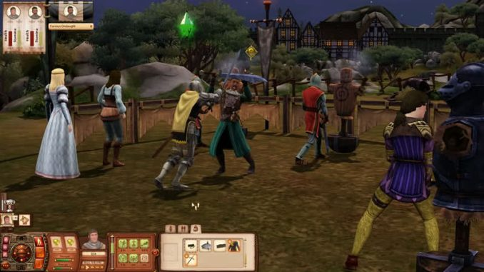 The Sims Medieval ScreenShot 3