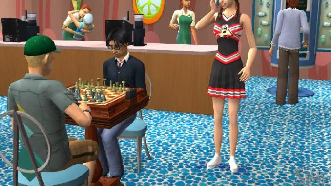 The Sims 2 University ScreenShot 2