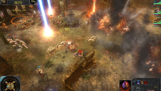 Warhammer 40000 Dawn of War II - Chaos Rising ScreenShot 2