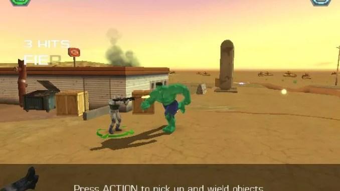 Hulk Vidoe Game ScreenShot 2