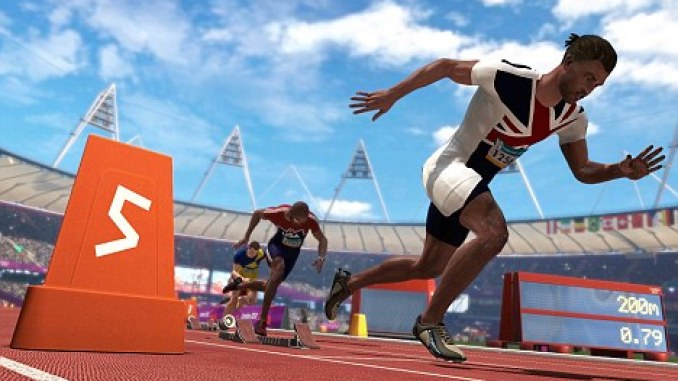 London 2012 The Official Video Game of the Olympic Games 2