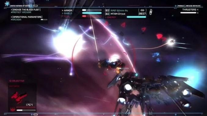 Strike Suit Zero ScreenShot 2