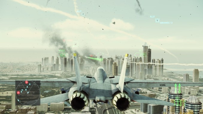Ace Combat Assault Horizon: Enhanced Edition ScreenShot 1