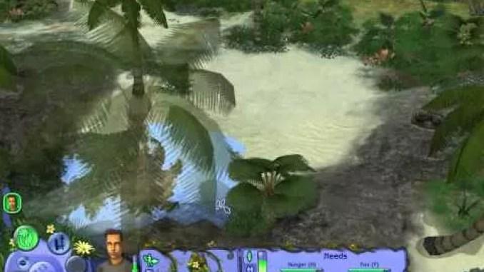 The Sims Castaway Stories ScreenShot 1