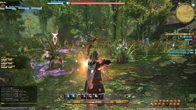 Final Fantasy XIV A Realm Reborn Game ScreenShot 1