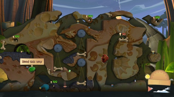 Worms Clan Wars ScreenShot 1