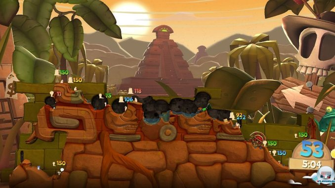 Worms Clan Wars ScreenShot 3