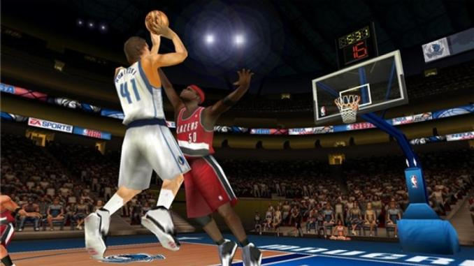 NBA Live 07 ScreenShot 1