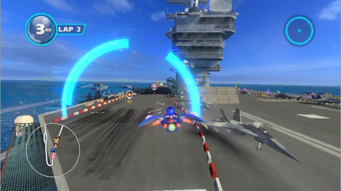 Sonic and All-Stars Racing Transformed ScreenShot 1