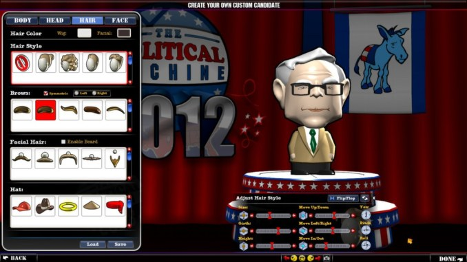 The Political Machine 2012 ScreenShot 1